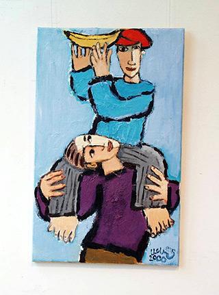 Krzysztof Kokoryn : A painter among painters