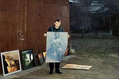 Adam Korszun : The Painter And The Girls
