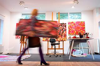 Beata Murawska : In the Studio