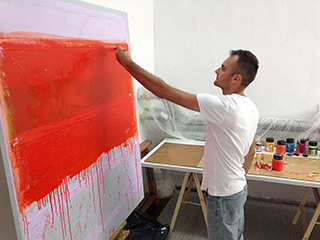 Sebastian Skoczylas : Crevices of Colour
