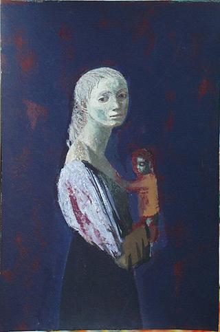 Aleksandra Waliszewska : Eyes Wide Open. A Self-portrait in an Interior