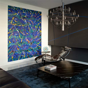 Paintings in interiors