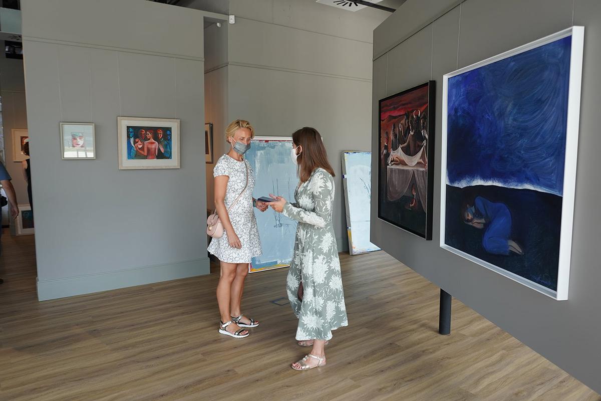 Öffnung: Katarzyna Karpowicz - Silber