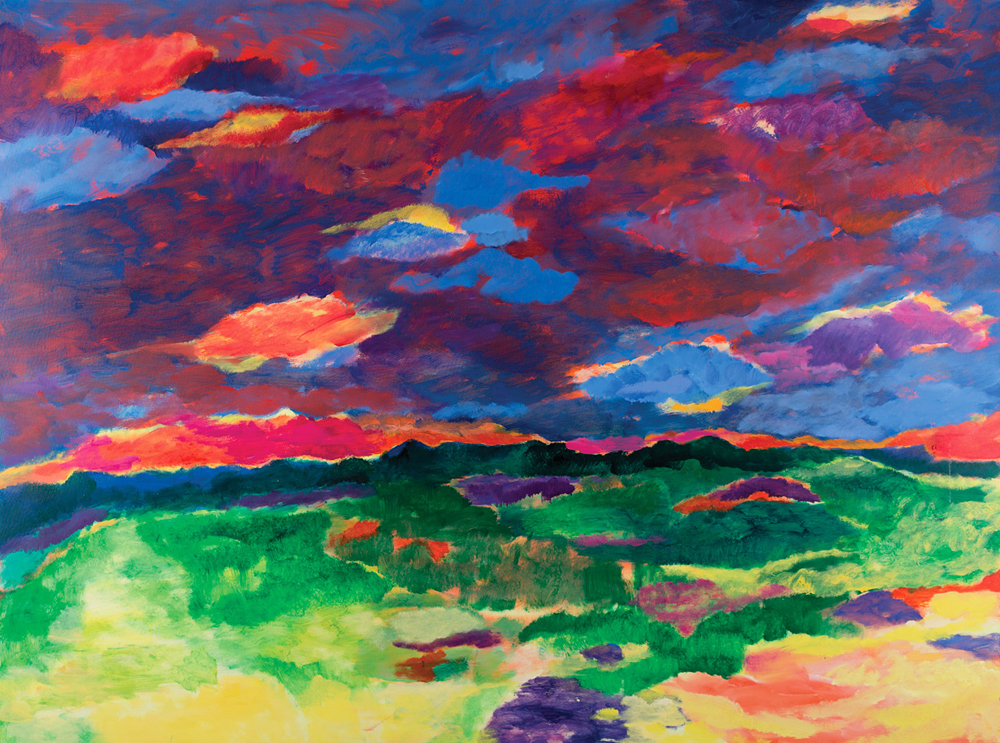 Po horyzont | As Far as the Horizon | Bis an den Horizon, 2016, 150 × 200 cm