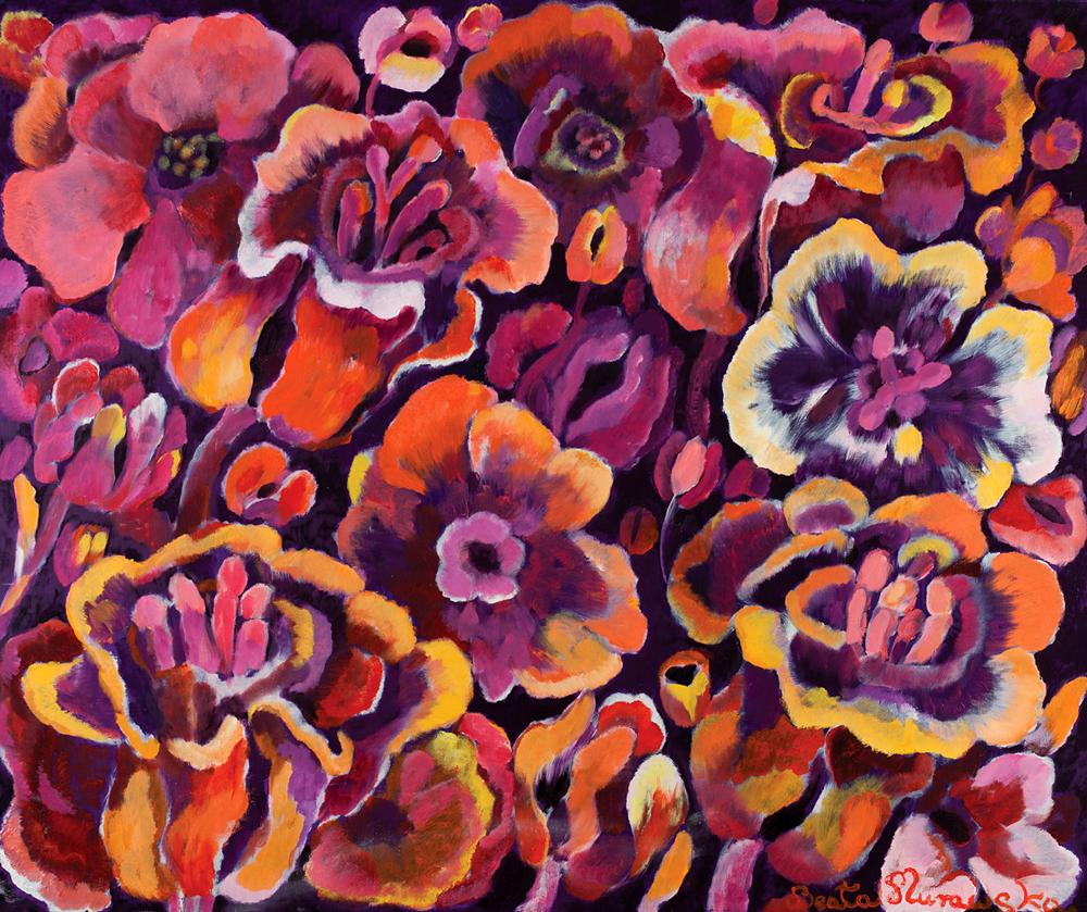 Bukiet | Bouquet | Blumenstrauß, 2015, 150 × 180 cm