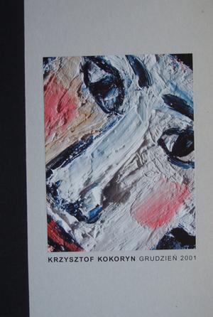 Krzysztof Kokoryn. 2001
