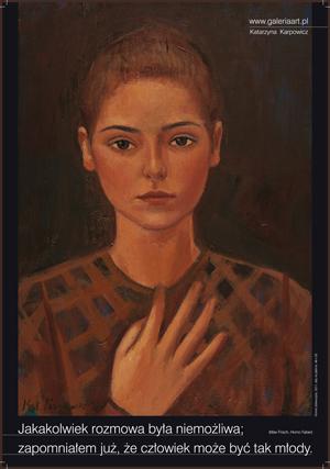 Katarzyna Karpowicz. Ich träumte
