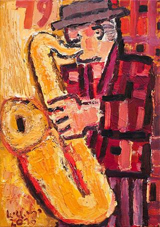 Krzysztof Kokoryn : 79 : Oil on Canvas
