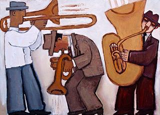 Krzysztof Kokoryn : Brass : Oil on Canvas