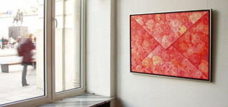Dariusz Mlącki : Envelope : Oil on canvas