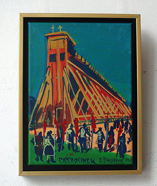 Edward Dwurnik : Ciechocinek : Oil on canvas