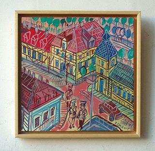 Edward Dwurnik : Świecie : Oil on canvas