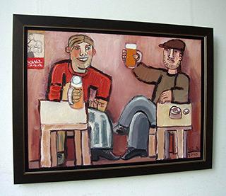 Krzysztof Kokoryn : Cheers! : Oil on canvas