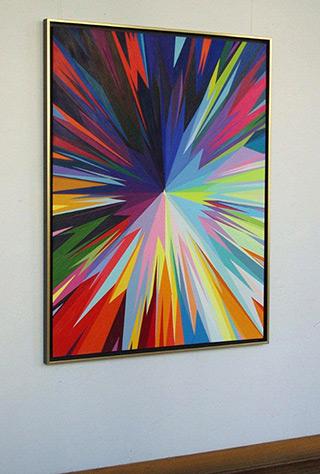 Małgorzata Jastrzębska : Painting no 305 : Oil on canvas