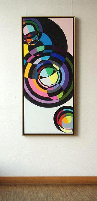 Małgorzata Jastrzębska : Painting no 318 : Oil on canvas