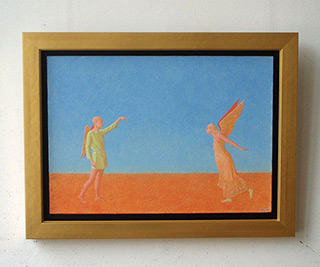 Mikołaj Kasprzyk : Flying study : Oil on canvas
