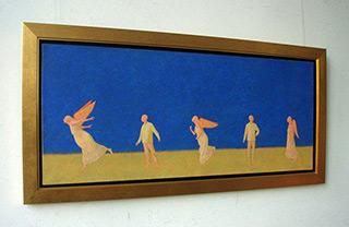 Mikołaj Kasprzyk : Migration : Oil on canvas
