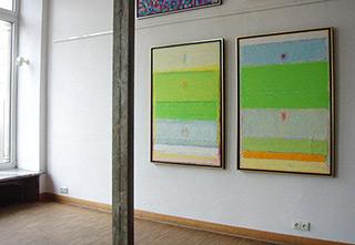 Sebastian Skoczylas : Gaps in the colour : Oil on canvas