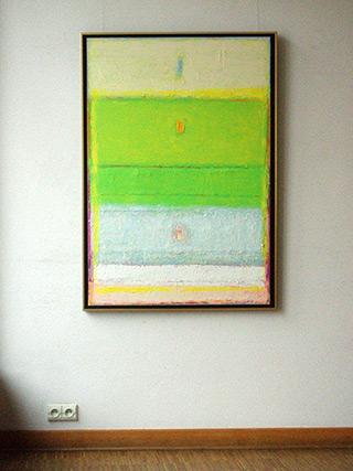 Sebastian Skoczylas : Kind of transparency : Oil on canvas