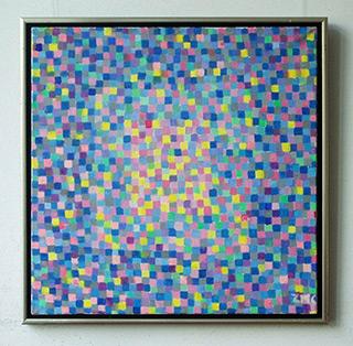 Zofia Matuszczyk-Cygańska : Blue : Oil on canvas
