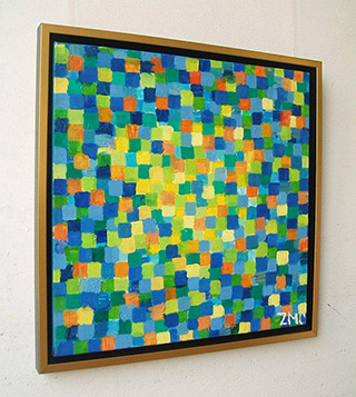 Zofia Matuszczyk-Cygańska : Cheerful : Oil on canvas