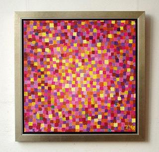Zofia Matuszczyk-Cygańska : Purple : Oil on canvas