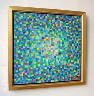 Zofia Matuszczyk-Cygańska : Turquoise : Oil on canvas