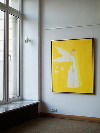 Jacek Łydżba : Angel : Oil on Canvas