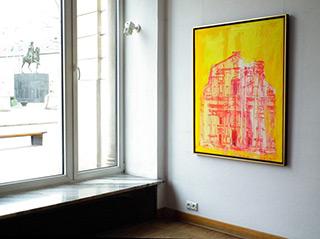 Jacek Łydżba : Il Gesu : Oil on Canvas