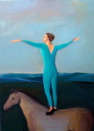 Katarzyna Karpowicz : Exercise : Oil on Canvas