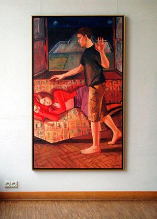 Katarzyna Karpowicz : Dream in silence : Oil on Canvas