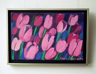 Beata Murawska : Nokturne : Oil on Canvas