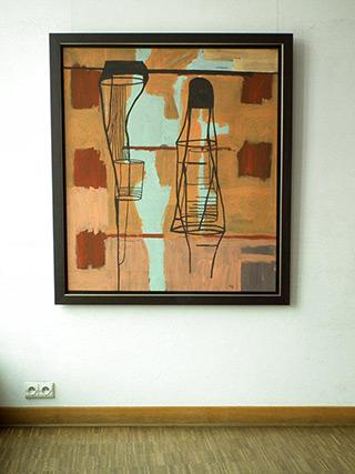 Ciro Beltrán : Painting : Acrylic on Canvas
