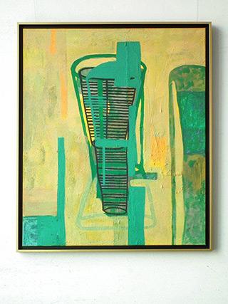 Ciro Beltrán : Painting T - 0116 : Acrylic on Canvas