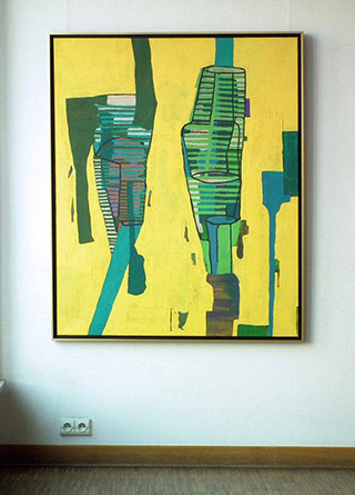 Ciro Beltrán : Painting T - 0242 : Acrylic on Canvas
