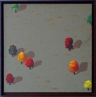 Dariusz Mlącki : Landscape : Oil on Canvas