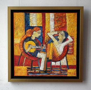 Darek Pala : Couple : Oil on Canvas