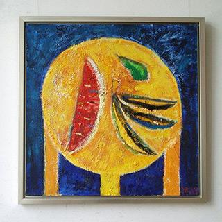 Darek Pala : Fruits on the table : Oil on Canvas