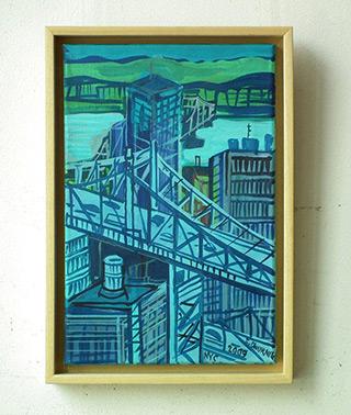 Edward Dwurnik : New York : Oil on Canvas