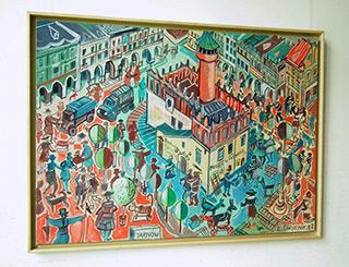 Edward Dwurnik : Tarnow : Oil on Canvas