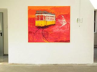 Jacek Łydżba : Lisabon : Oil on Canvas