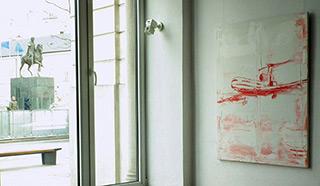 Jacek Łydżba : Tu 154 : Oil on Canvas