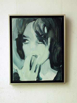 Katarzyna Swinarska : Chick : Oil on Canvas