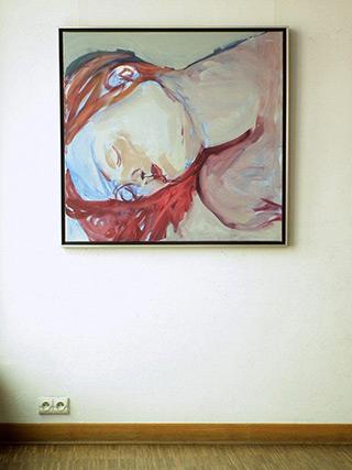 Katarzyna Swinarska : Dreaming : Oil on Canvas