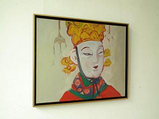 Katarzyna Swinarska : Empress Wu : Oil on Canvas