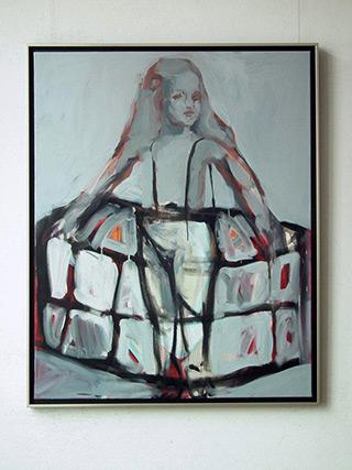 Katarzyna Swinarska : Infant : Oil on Canvas