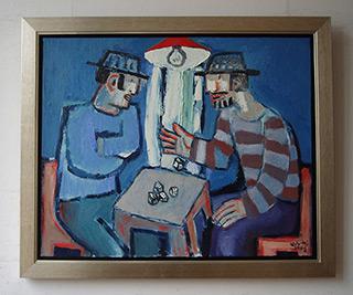 Krzysztof Kokoryn : Dice : Oil on Canvas