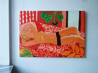 Krzysztof Kokoryn : Nude : Oil on Canvas