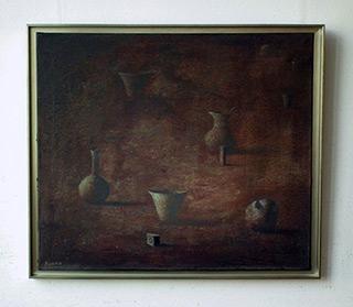 Łukasz Huculak : Tea in Herculaneum : Oil on Canvas