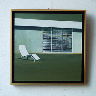 Maria Kiesner : Chair : Tempera on Canvas